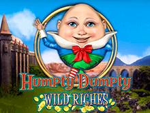 Бонусные раунды, Вайлды, Скаттеры в слоте Humpty Dumpty Wild Riches